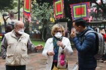 Du khách quốc tế đến Việt Nam giảm 76,6% trong 11 tháng