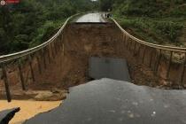 Sụt lún Quốc lộ 26, Đắk Lắk-Khánh Hoà bị chia cắt hoàn toàn