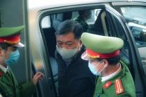 Ông Đinh La Thăng và đồng phạm hầu tòa trong vụ án Ethanol Phú Thọ