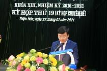 Thanh Hóa: Thiệu Hóa có tân Chủ tịch UBND huyện 38 tuổi