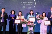 Các nhà khoa học nữ Việt Nam được vinh danh trên thế giới