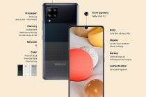 Samsung tung mẫu điện thoại di động thông minh 5G giá rẻ