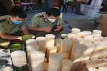 Quảng Bình: Tạm giữ gần 1 tấn hóa mỹ phẩm không rõ nguồn gốc