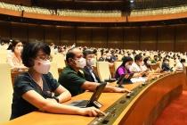 Quốc hội thông qua Nghị quyết về cơ cấu thành viên Chính phủ nhiệm kỳ 2021-2026