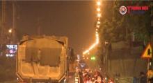 """Hà Nôi: Tình trạng xe quá khổ, quá tải """"lộng hành"""" trên quận Hà Đông, Thanh Xuân, Cầu Giấy"""