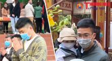 Thái Nguyên: Dòng người tấp nập đi lễ đầu năm tại chùa Phù Liễn