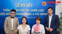 Lễ ký kết Hợp tác chiến lược giữa BKSS International và VQC Group diễn ra tại Hà Nội