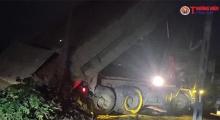 Dự án hầm chui Lê Văn Lương - Vành đai 3: Nhà thầu thi công ngang nhiên đổ trộm đất, đá thải?