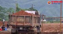Ban quản lý dự án huyện Lục Yên cho doanh nghiệp khai thác đất trái phép?
