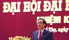 Khai mạc Đại hội Đảng bộ tỉnh Phú Thọ lần thứ XIX, nhiệm kỳ 2020 - 2025