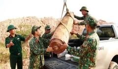 Quảng Ninh: Phát hiện quả bom nặng 450kg