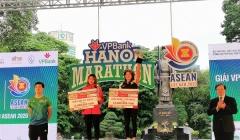 VPBank Hanoi Marathon ASEAN 2020 sôi động với nhiều thành tích ấn tượng