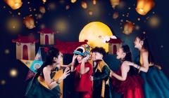 Mẫu nhí Phong Thiên tung bộ ảnh đầy màu sắc đón Trung thu