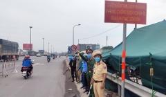 Hà Nội: Tăng cường kiểm soát chặt người ra vào TP tại 22 chốt cửa ngõ
