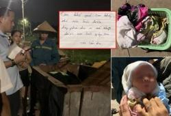 Hà Nội: Phát hiện bé sơ sinh bị bỏ rơi trong xe rác
