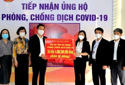 Đã có hơn 800 cơ quan, tổ chức ủng hộ Hải Dương chống dịch COVID-19