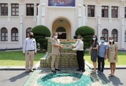 Vinamilk & Công ty con tại Campuchia hỗ trợ sữa cho người dân nước bạn phòng, chống dịch Covid-19