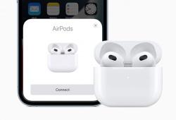 Apple ra mắt AirPods 3 hỗ trợ công nghệ vòm Spatial Audio