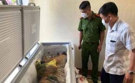 Hà Tĩnh: Khởi tố vụ án xác hổ 160kg trong tủ đông của nhà dân