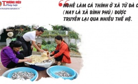 Thương hiệu cá thính Tử Đà: Món ăn đậm đà hương vị đất Tổ