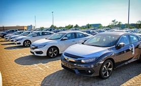 Tháng 8/2020, lượng ô tô nhập khẩu tăng mạnh