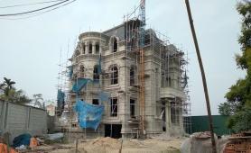 UBND huyện Thạch Thất chỉ đạo làm rõ vụ biệt thự xây dựng trên đất nuôi trồng thủy sản