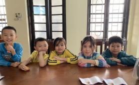 Hà Nội: Nhóm học sinh nhờ Công an trả lại 5 triệu đồng cho người đánh rơi