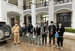 Phát hiện 6 người nước ngoài nhập cảnh trái phép trên cao tốc Bắc Giang - Lạng Sơn
