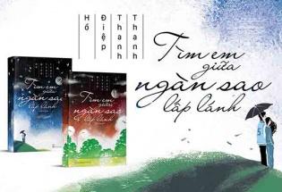 'Tìm em giữa ngàn sao lấp lánh': Cuốn tiểu thuyết lay động về tình yêu bên bờ vực cái chết