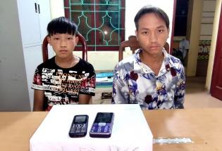 Điện Biên: Bắt 2 đối tượng, thu giữ 6 bánh heroin