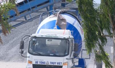 Thái Bình: Công ty cổ phần Thụy Việt vận hành trạm trộn bê tông sai quy định?