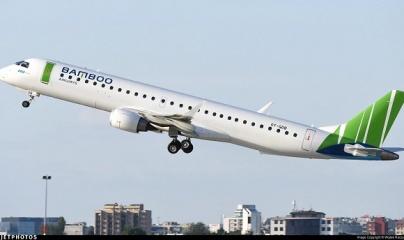 Rò rỉ hình ảnh máy bay thế hệ mới Embraer E195 được cho là sắp bay Côn Đảo
