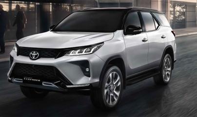 Toyota Fortuner 2021 chính thức ra mắt ở Việt Nam