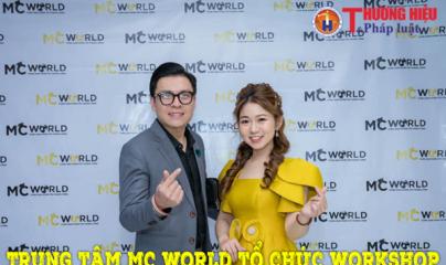 Trung tâm MC World tổ chức Workshop về nghề 'cầm mic' tại Hà Nội