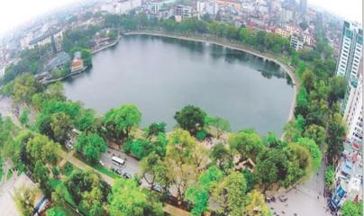 Hà Nội nghiên cứu tổ chức tuyến phố đi bộ hồ Thiền Quang