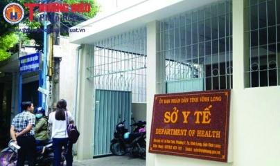 """Sở Y tế tỉnh Vĩnh Long mua máy giặt và máy giặt vắt giá """"trên trời"""""""