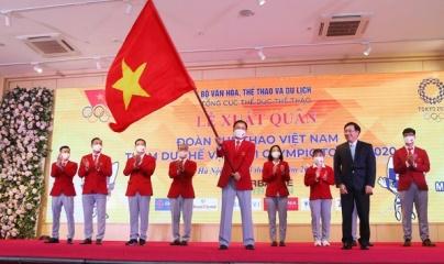Đoàn Thể thao Việt Nam sẵn sàng cho Olympic Tokyo 2020