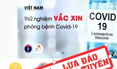 Cảnh báo nhiều thủ đoạn lợi dụng dịch COVID-19 để lừa đảo