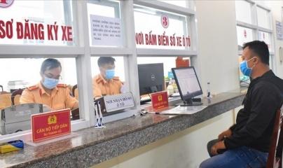 Người dân được đăng ký xe mới bằng hình thức online từ ngày 21/7