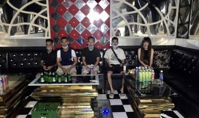 """Hải Phòng: Tiếp tục phát hiện quán karaoke hoạt động """"chui"""", 7 khách dương tính với ma túy"""