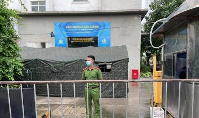 Bắc Từ Liêm - Hà Nội: Cách ly y tế hai toà nhà trong khu Ecohome 2