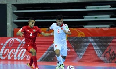 Tuyển Việt Nam thắp lên hy vọng vào vòng 1/8 futsal World Cup