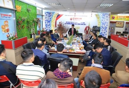 Thương hiệu và Pháp luật tổ chức Hội nghị Tổng kết công tác năm 2020