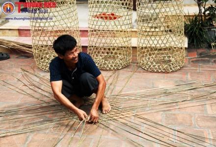 Làng nghề đan lát Ba Đông, Phú Thọ: Còn mây tre thì còn nghề!