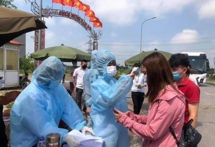 Bắc Ninh: Người lao động từ các tỉnh, thành phố khác được phép trở lại làm việc
