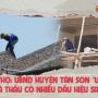 """Phú Thọ: UBND huyện Tân Sơn """"ưu ái"""" cho nhà thầu có nhiều dấu hiệu sai phạm?"""