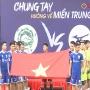 Giao lưu bóng đá (FC MIZUNO - FC ECOPARK) gây quỹ ủng hộ đồng bào miền Trung