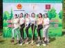 Hoa hậu Phương Khánh, Trúc Diễm, Hoàng Hạnh góp sức trồng cây xanh